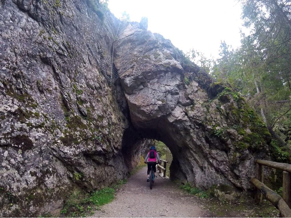 trasy rowerowe w Val di Sole, Dolomity latem