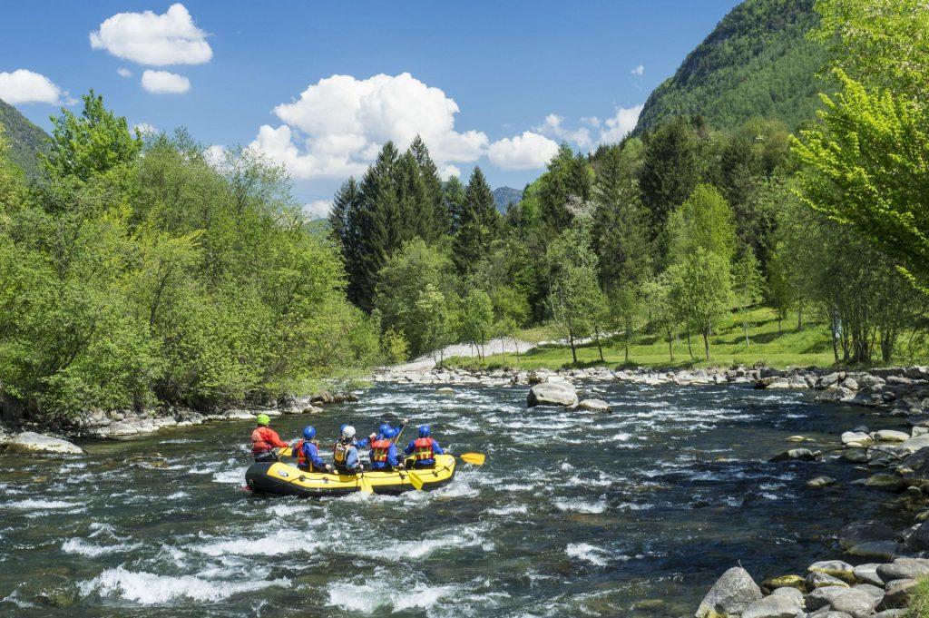 Rafting na rzece Noce w Val di Sole, Dolomity latem (fot. Marco Simonini, visittrentino.info)