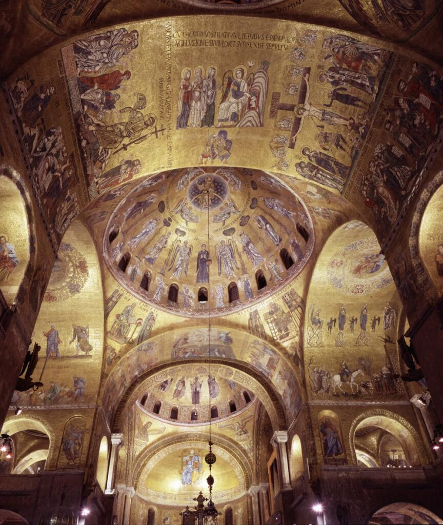 Wnętrze Bazyliki św. Marka w Wenecji (fot. Iga Olechowska, polski przewodnik w Wenecji)