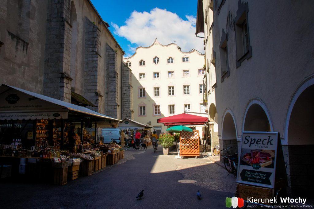 Piazza Parrocchia, Bressanone, Południowy Tyrol (fot. Łukasz Ropczyński, kierunekwlochy.pl)