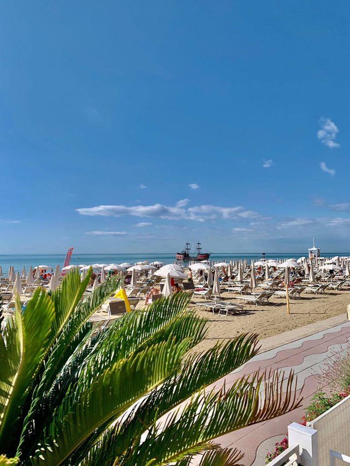 Lido di Jesolo, wybrzeże Adriatyku, Włochy