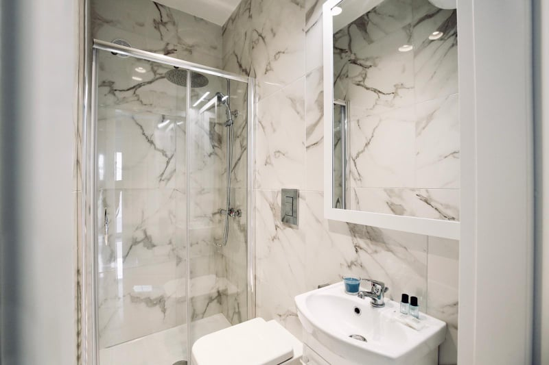 łazienka w apartamencie Vista Mare 2