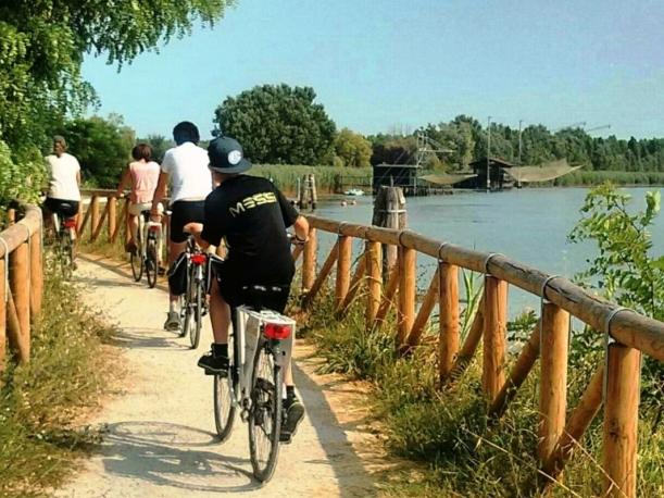 wycieczki rowerowe wokół Laguny przy Lido di Jesolo