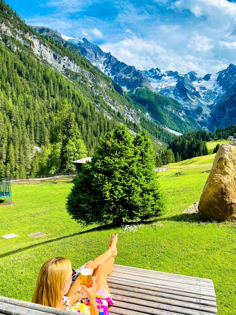 widok na szczyt Ortler (3905 m n.p.m.) w Południowym Tyrolu, Włochy (fot. Łukasz Ropczyński, kierunekwlochy.pl)