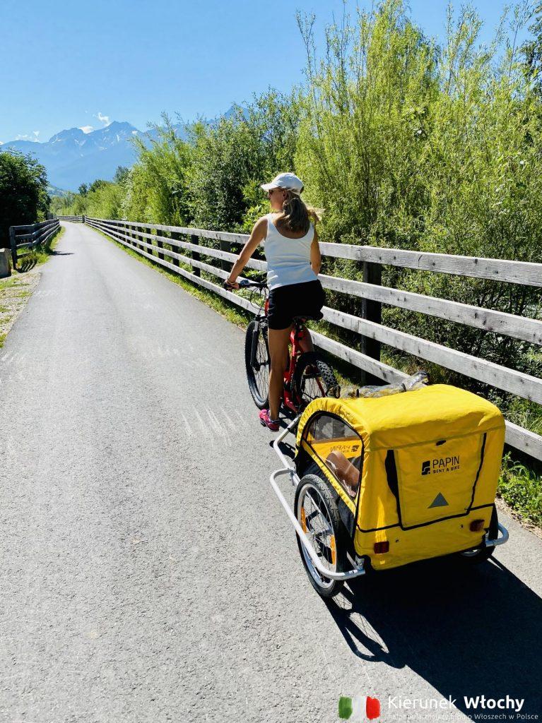 Via Claudia Augusta – słynna w całej Europie trasa przez Alpy (fot. Łukasz Ropczyński, kierunekwlochy.pl)