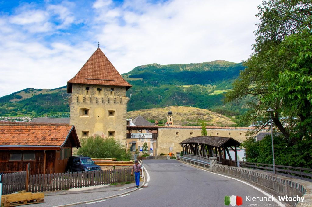 Glorenza / Glurns to najmniejsze miasto Południowego Tyrolu (fot. Łukasz Ropczyński, kierunekwlochy.pl)