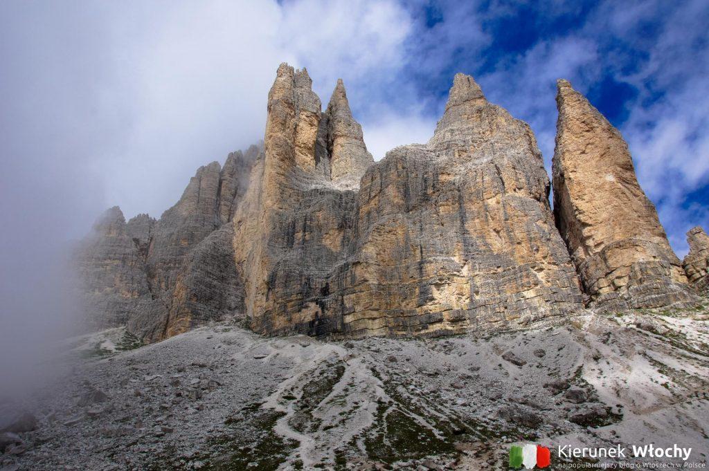 3 Zinnen Dolomites / Tre Cime di Lavaredo, 2 999 m n.p.m. (fot. Łukasz Ropczyński, kierunekwlochy.pl)