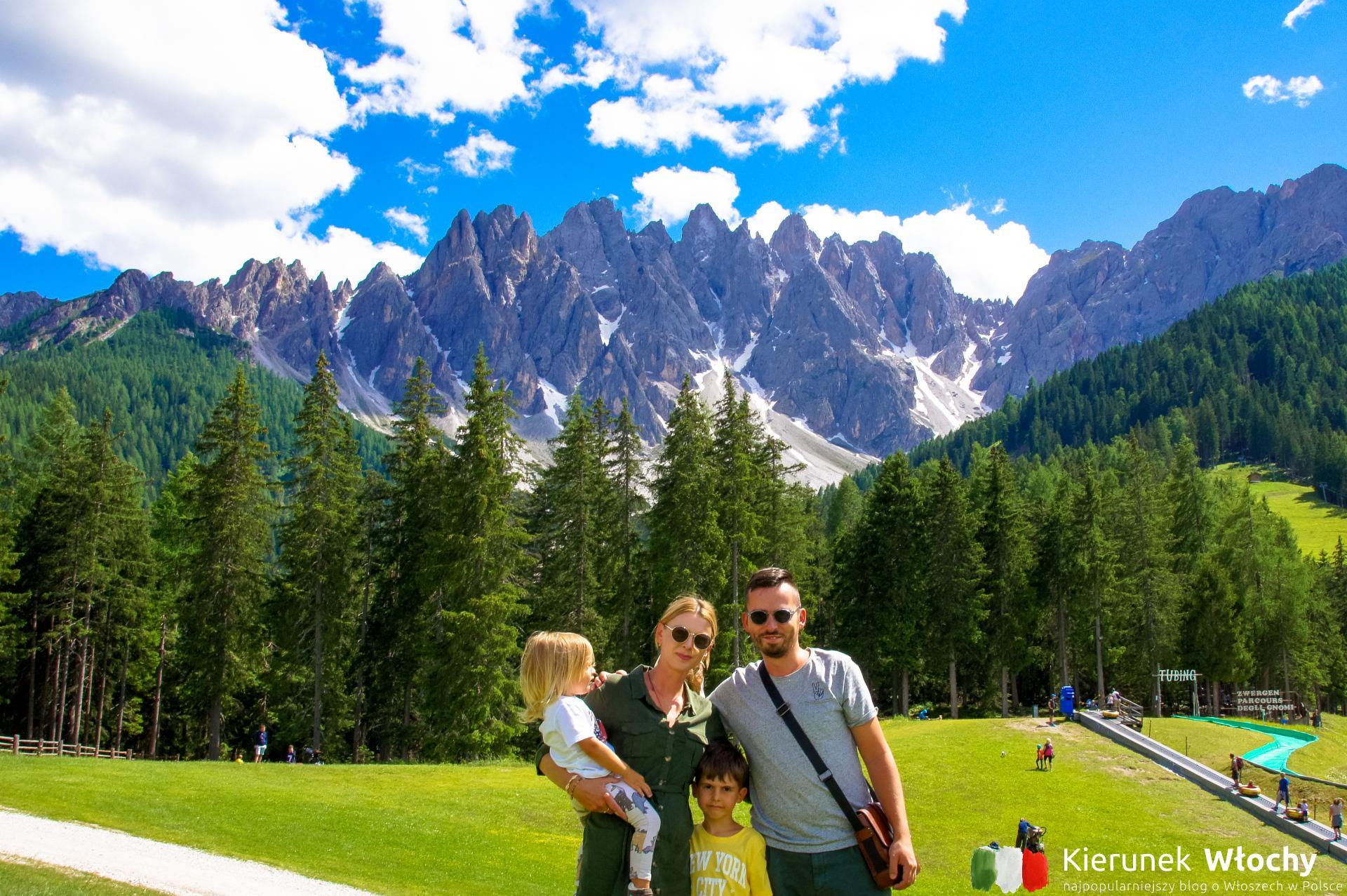 Wakacje w Dolomitach - aktywny wypoczynek w Południowym Tyrolu. Gotowy przepis na rodzinny urlop