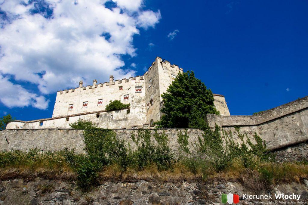 zamek Castel Coira / Churburg w Sluderno, wakacje w Dolomitach (fot. Łukasz Ropczyński, kierunekwlochy.pl)