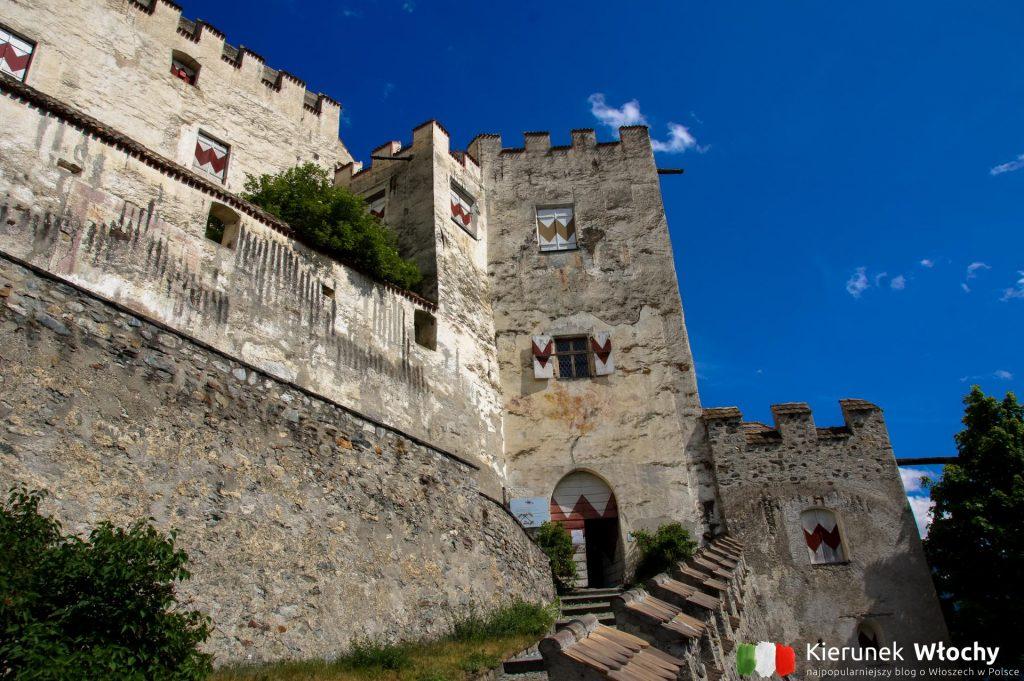 zamek Castel Coira / Churburg w Sluderno, Południowy Tyrol (fot. Łukasz Ropczyński, kierunekwlochy.pl)