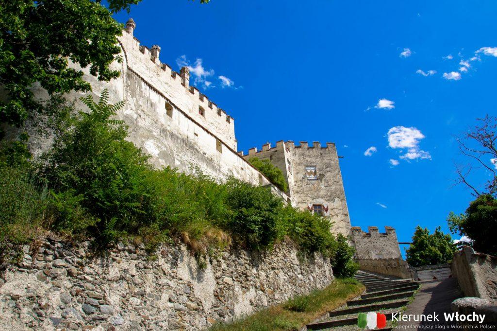 zamek Coira został zbudowany w 1253 r. przez biskupów z Chur jako twierdza obronna (fot. Łukasz Ropczyński, kierunekwlochy.pl)